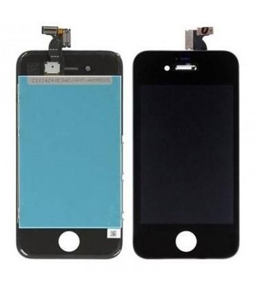 Pantalla completa para el iPhone 4 negra