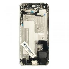tapa carcasa trasera completa con Componentes  para iphone 5 Blanca