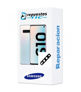 Reparacion Lente Camara trasera Samsung Galaxy S10 G973