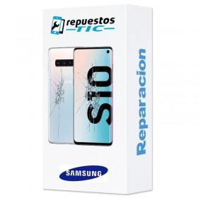 Reparacion Pantalla completa y tapa trasera Samsung Galaxy S10 G973
