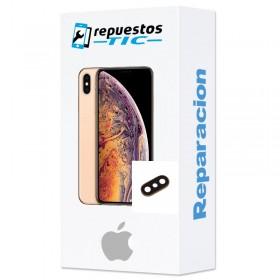 Reparacion Lente Camara trasera iPhone Xs Max