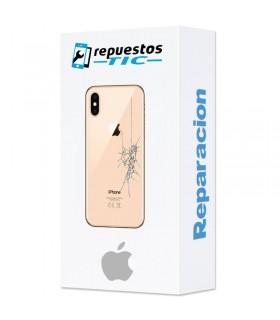 Reparacion tapa trasera iphone X cualquier color