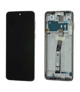 Pantalla original completa con marco Xiaomi Redmi Note 9s Blanco Glacial