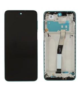 Pantalla original completa con marco Xiaomi Redmi Note 9s Azu Aurora