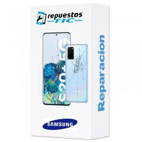 Reparacion Pantalla original + tapa trasera Samsung Galaxy S20 Plus 5G G986
