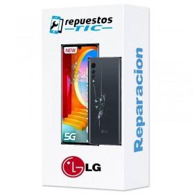 Reparacion pantalla + Tapa trasera LG Velvet 5G