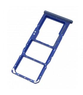 Bandeja Dual SIM Micro SD Samsung Galaxy A70 A705 Azul