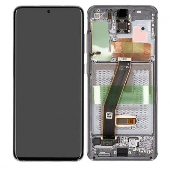 Pantalla completa original Samsung Galaxy S20 4G/ 5G G980 G981 Gris