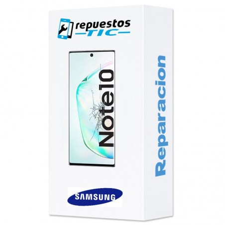 Reparacion Pantalla completa original Samsung Galaxy Note 10 N970 Plata