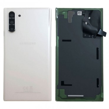 Tapa trasera original Samsung Galaxy Note 10 N970 Blanco