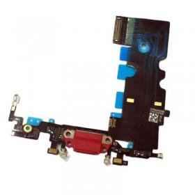 Modulo conector de carga y micro iPhone 8, iPhone SE 2020 Rojo