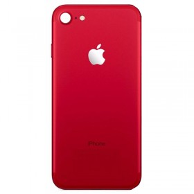 Tapa trasera iPhone 8, iPhone SE 2020 Rojo (facil instalacion)