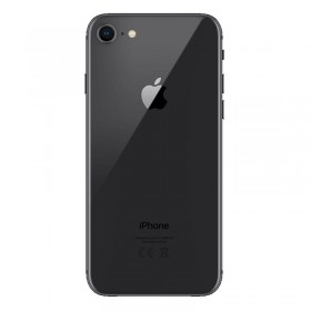 Tapa trasera iPhone 8, iPhone SE 2020 Negro (facil instalacion)