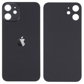 Tapa trasera iPhone 12 color negro