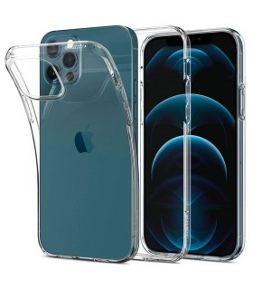Funda gel silicona transparente iPhone 12/ 12 Pro