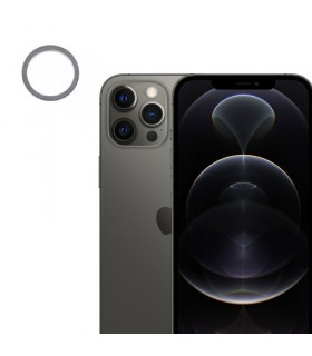 Lente Camara trasera iPhone 12 Pro Max Negro (grafito)