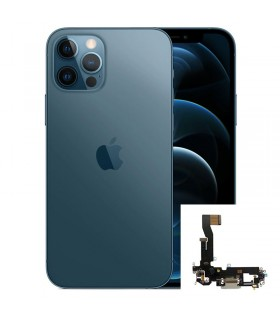 Conector de carga iPhone 12 Pro Azul (Pacific Blue)