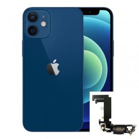 Conector de carga iPhone 12 Mini Azul