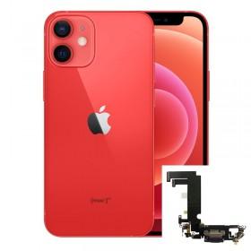 Conector de carga iPhone 12 Mini Rojo