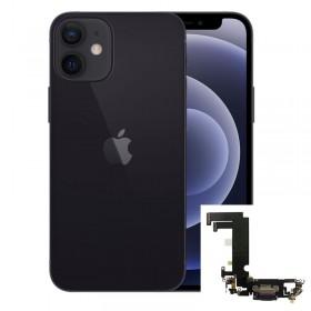 Conector de carga iPhone 12 Mini Negro