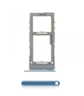 Bandeja porta tarjeta SIM + Micro SD Azul Samsung Galaxy S20 G980/ S20 Plus G985 G986 /S20 Ultra G988