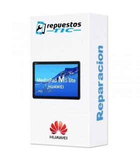 "Reparacion/ cambio Pantalla completa Huawei Mediapad m5 Lite 10"" Negro"