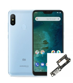 Reparacion/ cambio Conector de carga Xiaomi Mi A2 Lite