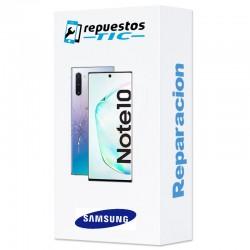 Reparacion/ cambio Tapa trasera Samsung Galaxy Note 10 cualquier color