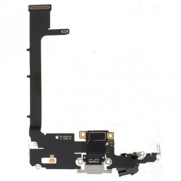 Conector de carga iPhone 11 Pro Max Plata/ Blanco
