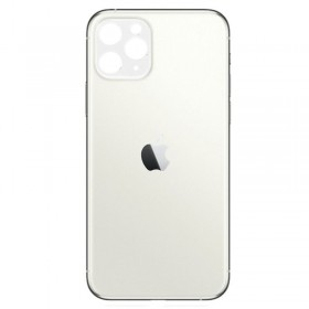 Tapa trasera iPhone 11 Pro Max Blanco/ Plata
