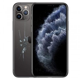 Reparacion/ cambio Tapa trasera iPhone 11 Pro Negro