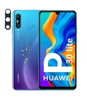 Reparacion/ cambio Tapa trasera + lente camara trasera Huawei P30 lite