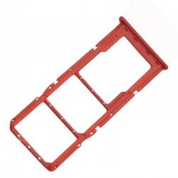Bandeja dual sim micro sd Samsung Galaxy A21s A217F Rojo