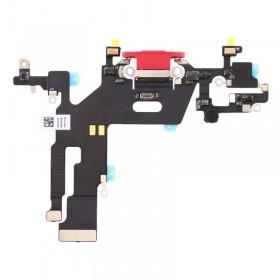 Conector de carga iPhone 11 Rojo