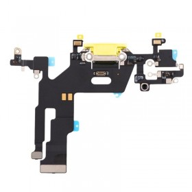 Conector de carga iPhone 11 Amarillo