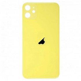 Tapa trasera cristal iPhone 11 Amarillo