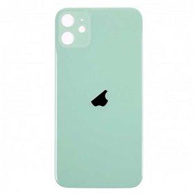 Tapa trasera cristal iPhone 11 verde
