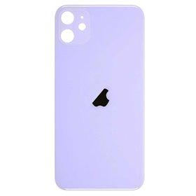Tapa trasera cristal iPhone 11 Purpura/ violeta