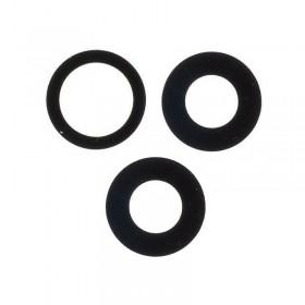 Set lentes camara trasera iphone 11 Pro Max Negro