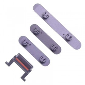 Set botones laterales iPhone 11 Violeta/ lila