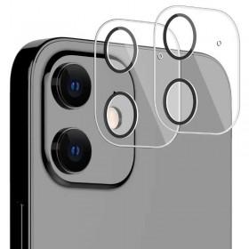 Protector cubierta lente camara trasera iPhone 12 Mini transparente