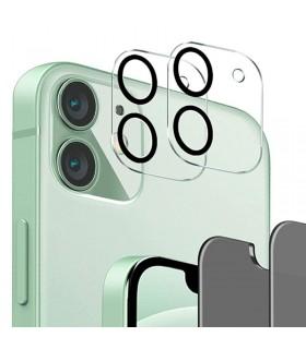 Protector cubierta lente camara trasera iPhone 12 transparente