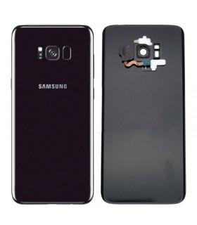 Tapa trasera Samsung Galaxy S8 Plus G955F con sensor huella y lente Negro original