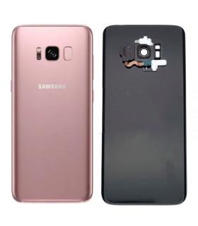 Tapa trasera original Violeta Samsung Galaxy S8 Plus G955F con sensor huella y lente