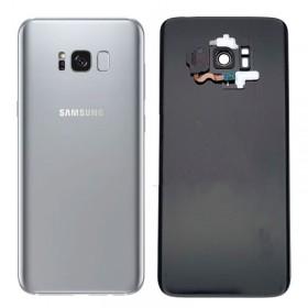 Tapa trasera original Azul Samsung Galaxy S8 Plus G955F con sensor huella y lente
