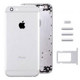 Carcasa Trasera para iPhone 6 Plateada