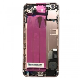 Carcasa trasera Oro Rosado completa para iPhone 6 Plus