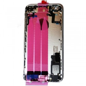 Carcasa trasera Plateada completa para iPhone 6 Plus