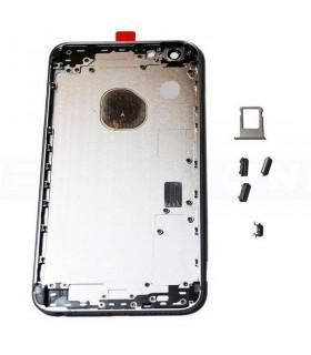 Carcasa trasera para iPhone 6S plus-Plateada