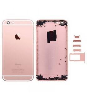 Carcasa trasera para iPhone 6S plus-Rosa dorada